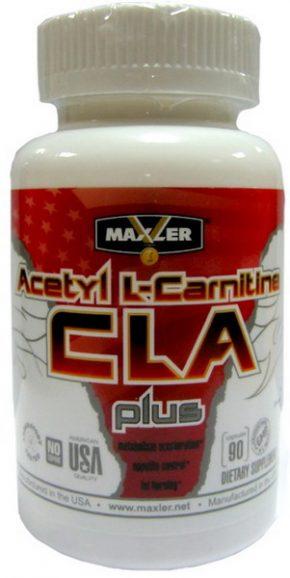 Maxler Acetyl L-Carnitine CLA Plus 90 капс
