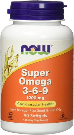 NOW Foods Super Omega 3-6-9 90 капсул