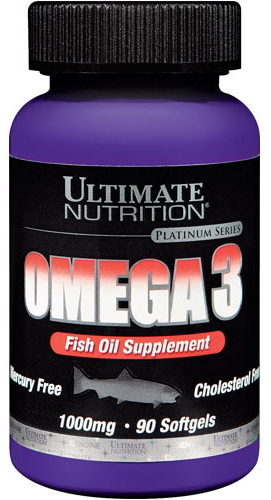Ultimate Nutrition Omega-3 90 капсул