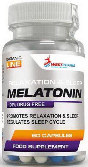 WestPharm Melatonin 10 мг 60 капсул