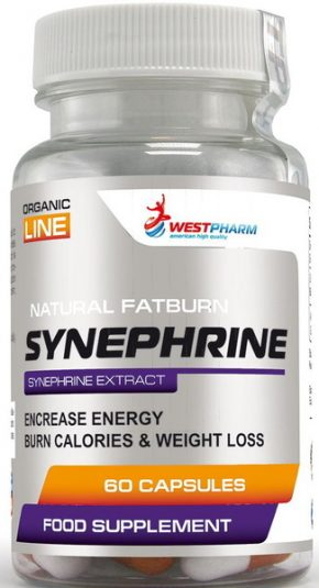 WestPharm Synephrine 60 капсул