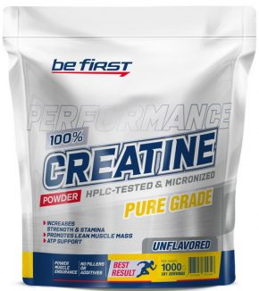 Creatine Micronized Powder Be First 1000 гр