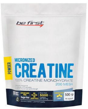 Creatine Micronized Powder Be First 500 гр
