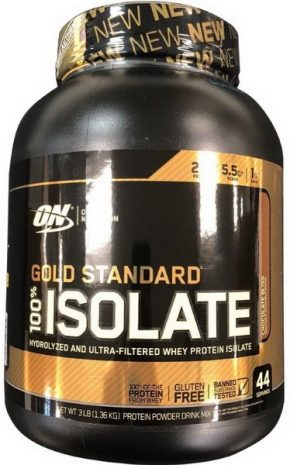 Optimum Nutrition Gold Standard 100% Isolate 1360 гр