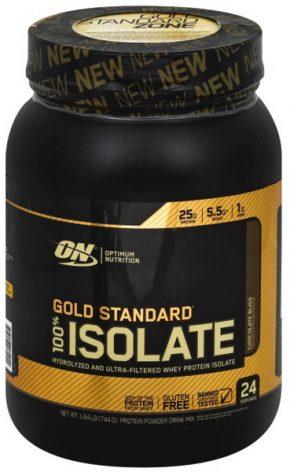 Optimum Nutrition Gold Standard 100% Isolate 730 гр