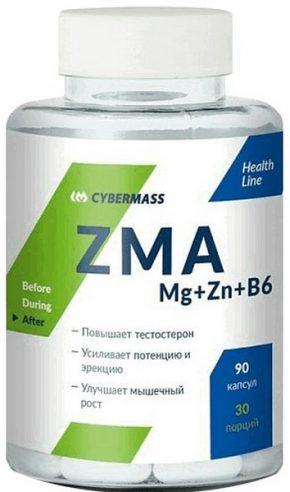 Cybermass ZMA Mg+Zn+B6
