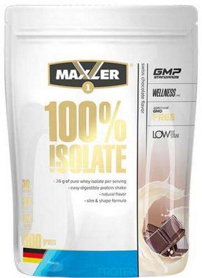 Протеин Maxler Isolate 100% 900 гр