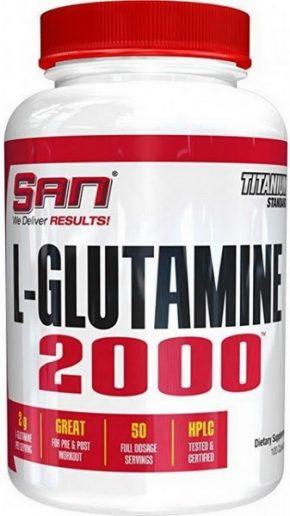 L-Glutamine 2000 SAN 100 капсул